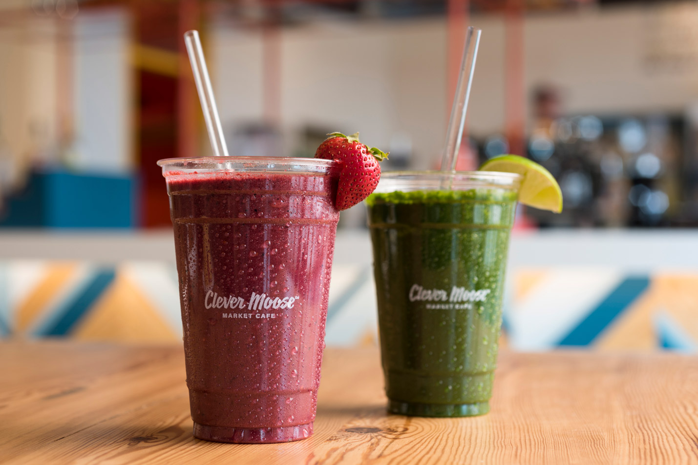 Lodgic Champaign Clever Moose Cafe Smoothies